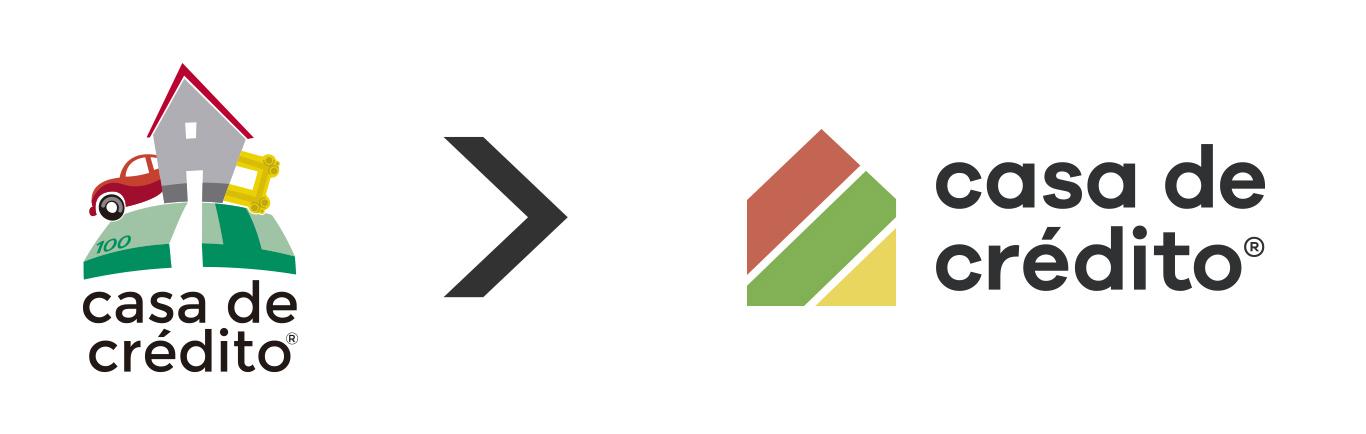 Cambio de logotipo - Casa de Crédito