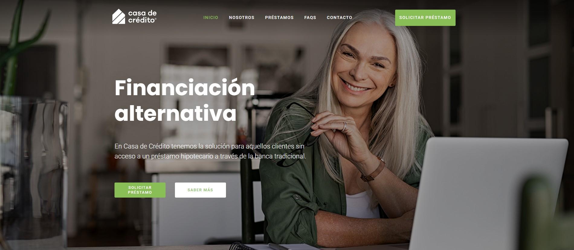 Nueva web - Casa de Crédito
